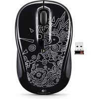 Logitech Wireless Mouse M325 (Black Topography)