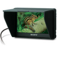 """Sony CLM-V55 5"""" Camera Monitor / Battery / Charger Bundle Plus"""