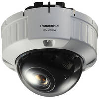 Panasonic WV-CW504F Super Dynamic 5 Vandal-Resistant Fixed Dome Camera (NTSC)