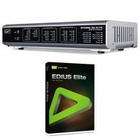 Grass Valley STORM 3G Elite Breakout Box with EDIUS Elite 1.01 NLE System