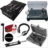 Technics SL-1210MK2 Advanced DJ Turntable Kit