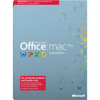 Microsoft Office for Mac University 2011