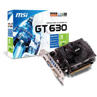 MSI GT 630 2048MB DDR3 Graphics Card