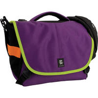 Crumpler 6 Million Dollar Home Bag (Purple/Olive Green)