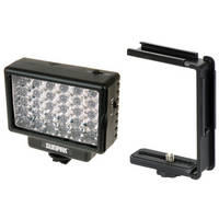 Sunpak LED 30 Video Light & Compact Video Bracket B&H Kit