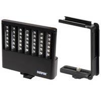 Sunpak VL-LED-42 Compact Video Light & Compact Video Bracket B&H Kit