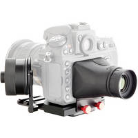 iDC Photo Video SYSTEM ZERO Standard Follow-Focus with Viewfinder for Nikon D800 Camera
