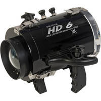 Equinox HD6 High Definition Underwater Video Housing for Canon HF M50 Camcorder