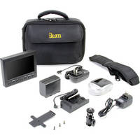 ikan VK5 Field Monitor Deluxe Kit with Panasonic D54 Series Battery Plate