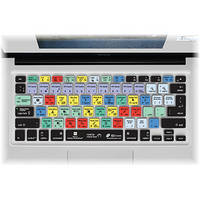 KB Covers Photoshop Keyboard Cover for MacBook, Air & Pro (Unibody, Black Keys)