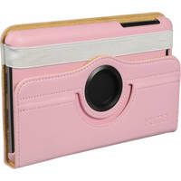 "Xuma Rotating Folio Case for Google Nexus 7"" Tablet (Pink)"