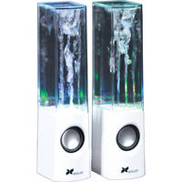 Xcellon Dancing Water Speakers - Four LEDs (White)
