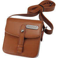 Pentax Q Vintage Leatherette Shoulder Bag (Brown)