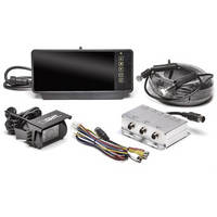 """Rear View Safety RVS-770619P Backup Camera System 1 Camera Setup with 7"""" Mirror Display"""