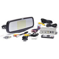 Rear View Safety Inc Car Camera System with Mirror Monitor Display