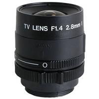"Kowa LM3PBR 1/3"" Fixed Focus Manual Iris Lens (2.8mm)"