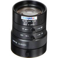 """computar M3Z1228C-MP 2/3"""" 12 to 36mm Varifocal Manual Iris MP Lens (C-Mount)"""