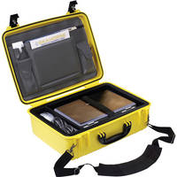 Seahorse 720CC Laptop Case with Lid Organizer and Laptop Tray (Safety Yellow)