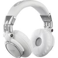 Zomo HD-1200 Professional DJ Headphones (White/Chrome)