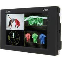 """ikan D5w 5.6"""" Camera Monitor with Panasonic D54 Battery Plate"""