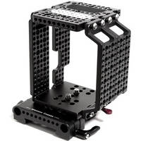 Wooden Camera WC-146100 Multi-Purpose Cheese Cage + (15mm Studio) for RED Epic & Scarlet Cameras