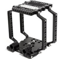 Wooden Camera 148400 NATO Cage with 15mm Studio Bridgeplate