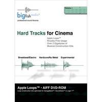 Big Fish Audio Hard Tracks for Cinema DVD (Apple Loops Library)