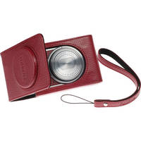 Fujifilm Leather Fitted Case for the XF-1 Camera (Red)