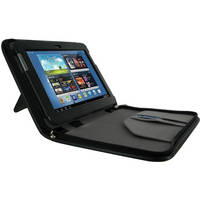 "rooCASE Executive Leather Case Cover For Samsung Galaxy Note 10.1"" Tablet (Black)"