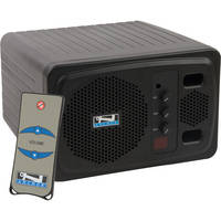 Anchor Audio AN-130RC+ Speaker Monitor With Remote Control (Black)