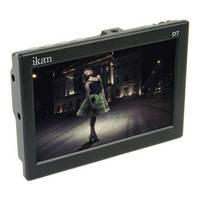 "ikan D7 7"" 3G-SDI/HDMI LCD Field Monitor with Canon LP-E6 Type Batt Plate"