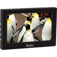 "ikan VL5 5"" HDMI Field Monitor Kit with LP-E6 Battery Plate"