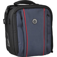 M-Rock 5060 Grand Canyon Double Access Notebook Camera Bag (Black with Navy)