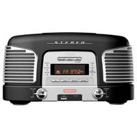Teac SL-D920B Nostalgic CD-Radio (Black)