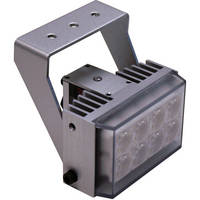 Iluminar WL105 Series Short-Range White Light Illuminator (30', 120°, Silver)