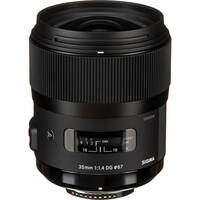 Sigma 35mm f/1.4 DG HSM A1 Lens for Nikon DSLR Cameras