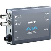 AJA HDP2 HD/SD-SDI to DVI-D Video and Audio Converter
