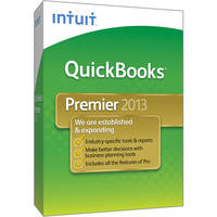 Intuit QuickBooks Premier Complete Package 2013 for Windows (1-User, CD-ROM)
