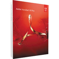 Adobe Acrobat XI Pro for Windows (1-User License)