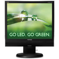 "ViewSonic 17"" LED Monitor with 1280 x 1024p Resolution"