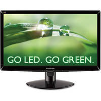 """ViewSonic VA2037M-LED 20"""" Widescreen Monitor with Built-In Speakers"""