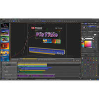 VisTitle 2.0 3D Title Effects Plug-In for EDIUS 6.0 and Higher
