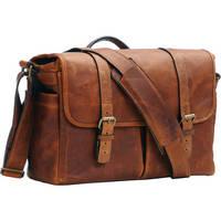ONA Brixton Camera/Laptop Messenger Bag (Leather, Antique Cognac)