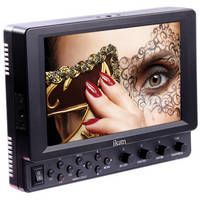 "ikan VK7i 7"" HDMI Monitor with Canon E6 Type Battery Plate"