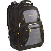 """Targus TSB702US 16"""" Drifter II Plus Backpack (Black / Gray)"""
