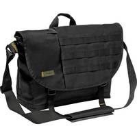 "Targus 16"" Military Messenger Laptop Bag (Black / Yellow Accents)"