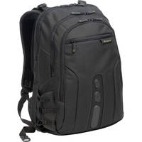 """Targus 17"""" Spruce EcoSmart Backpack (Black / Green Accents)"""