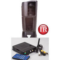 KJB Security Products C1568 Zone Shield Night Vision Oscillating Fan with QUAD Receiver