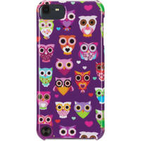 Griffin Technology Wise Eyes Case for iPod touch 5th Gen (Purple/Pink Owl Pattern)