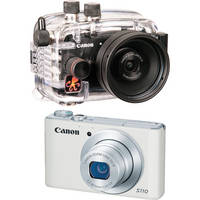 Ikelite 6242.11 Compact Digital Underwater Housing Kit with Canon PowerShot S110 Digital Camera